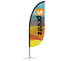 Display Flag - Feather (large)