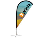 Display Flag - Teardrop (medium)